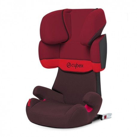 CYBEX FOTELIK SOLUTION X-FIX RUMBA RED