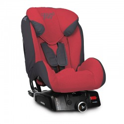 casualplay fotelik samochodowy q-retraktor fix 915 flame red promo