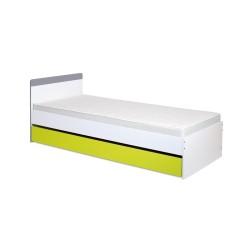 klupś łóżko irene lime z szufladą