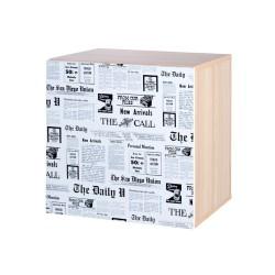 klupś szafka wisząca top news z nadrukiem