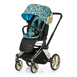 CYBEX WÓZEK SPACEROWY PRIAM JEREMY SCOTT CHERUBS BLUE