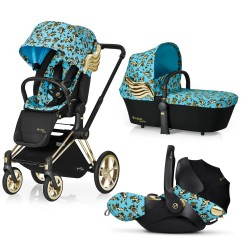 CYBEX WÓZEK PRIAM JEREMY SCOTT CHERUBS + FOTELIK CLOUD Q