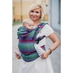 LENNYLAMB NOSIDEŁKO ERGONOMICZNE IMPRESJA DARK ROZMIAR BABY