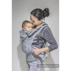lennylamb nosidełko ergonomiczne paisley granat z kremem rozmiar baby