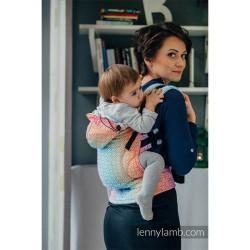lennylamb nosidełko ergonomiczne big love tęcza rozmiar baby