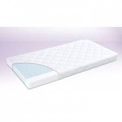traumeland materac do łóżeczka płatek śniegu 70x140