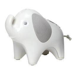 skip hop lampka nocna z projektorem i pozytywką słoń