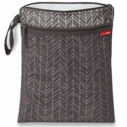 skip hop worek suche-mokre feather grey