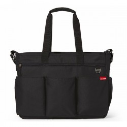 SKIP HOP TORBA DOUBLE SIGNATURE BLACK