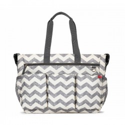 skip hop torba double signature chevron