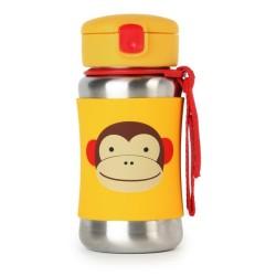 skip hop stalowy bidon zoo małpa