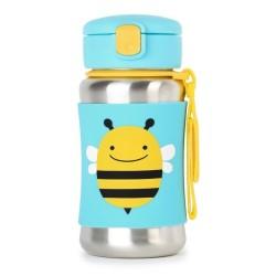skip hop stalowy bidon zoo pszczoła