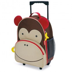 skip hop walizka zoo małpa