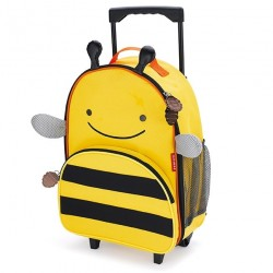skip hop walizka zoo pszczoła