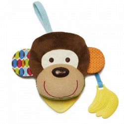skip hop książeczka-pacynka bandana buddies małpa