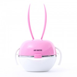 BABY MONSTERS ZESTAW DO KARMIENIA MEAL-B/MEAL-BA BUNNY PINK