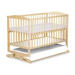 klupś łóżeczko - kołyska z szufladą radek ii sosna