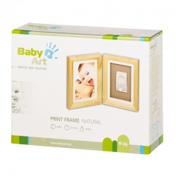 BABY ART PRINT FRAME NATURALNA