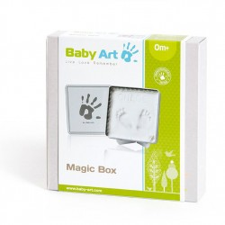 BABYART MAGIC BOX WHITE&GREY