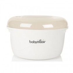 BABYMOOV STERYLIZAOTR DO KUCHENKI MIKROFALOWEJ cream