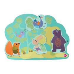 oribel zabawka leśni przyjaciele vertiplay