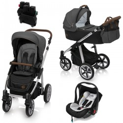 baby design wózek dotty 2w1 + leo