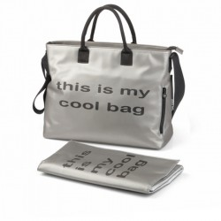 BE COOL TORBA MAMA BAG SILVER