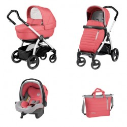 PEG-PEREGO BOOK S ELITE 3W1 BLACK-WHITE BREEZE CORAL