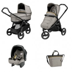 PEG-PEREGO BOOK SCOUT POPUP 3W1 LUXE GREY