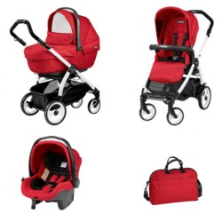 PEG-PEREGO BOOK 51 XL SPORTIVO 3W1 BLACK WHITE GEO RED