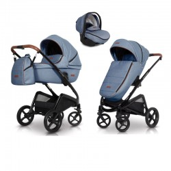 euro-cart wózek express 3w1 + fotelik kite isofix ready