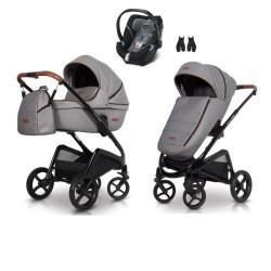 euro-cart wózek express 3w1 + fotelik cybex aton 5