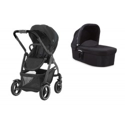 GRACO WÓZEK EVO XT 2W1 BLACK GREY