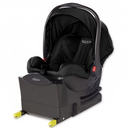 GRACO FOTELIK SNUGRIDE I-SIZE MIDNIGHT BLACK