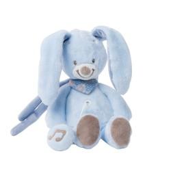 nattou alex & bibou mini-pozytywka królik bibou 21 cm