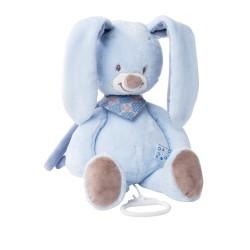nattou alex & bibou pozytywka królik bibou 28cm