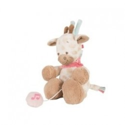 nattou charlotte & rose mini pozytywka żyrafa charlotte 20 cm