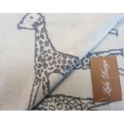 lula design kocyk żyrafa