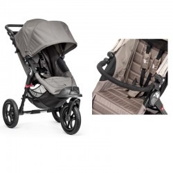 BABY JOGGER WÓZEK CITY ELITE GRAY