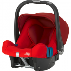 BRITAX & ROMER FOTELIK BABY-SAFE PLUS SHR II FLAME RED
