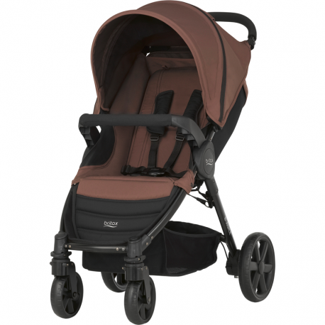 BRITAX & ROMER WÓZEK B-AGILE 4 WOOD BROWN / BLACK