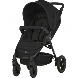 BRITAX & ROMER WÓZEK B-MOTION 4 PLUS COSMOS BLACK