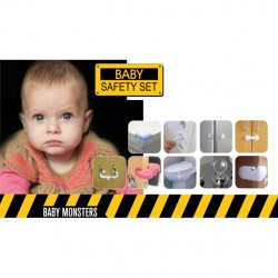 BABY MONSTERS ZESTAW ZABEZPIECZEŃ SAFETY SET
