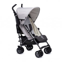 EASYWALKER WÓZEK SPACEROWY BUGGY+ SILVER CIRCLE