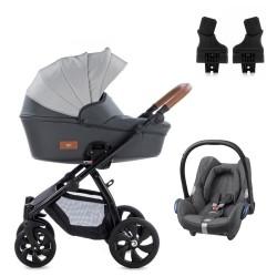 tutis wózek aero + fotelik cabriofix 3w1