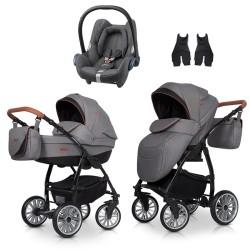 euro-cart wózek passo pro + fotelik cabriofix 3w1