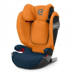 CYBEX FOTELIK SOLUTION S-FIX TROPICAL BLUE