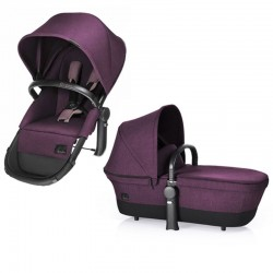 CYBEX PRIAM SIEDZISKO + GONDOLA LIGHT SEAT PRINCESS PINK