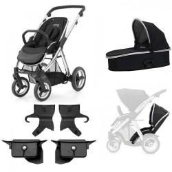 babystyle wózek bliźniaczy oyster max 2w1 promocja