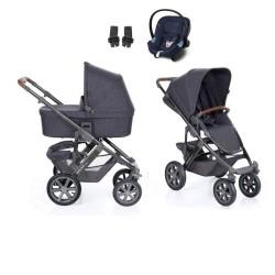 abc design wózek salsa 4 air 3w1 z fotelikiem aton m